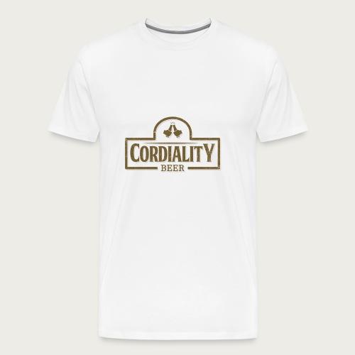 Cordiality Logo 1 - Men's Premium T-Shirt