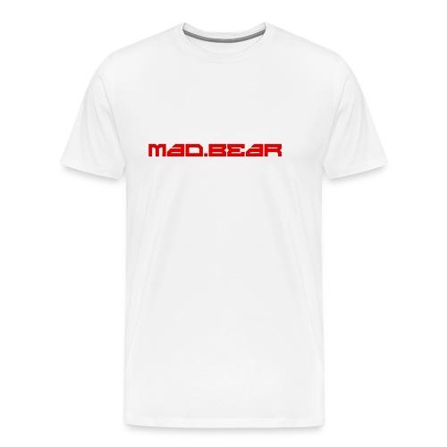CAMISETA MAD.BEAR LOGO - Camiseta premium hombre