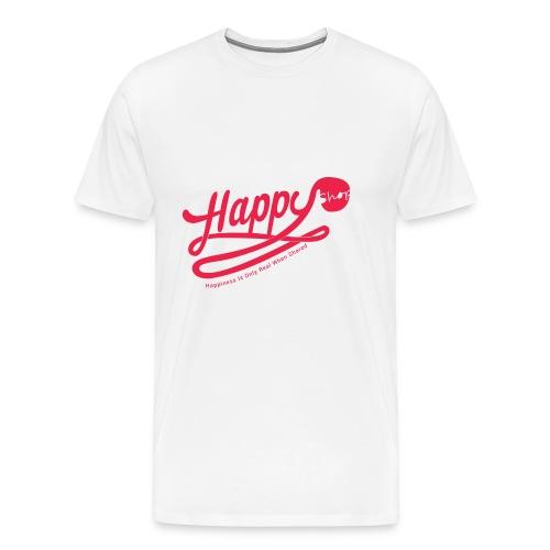 happy happiness - T-shirt Premium Homme