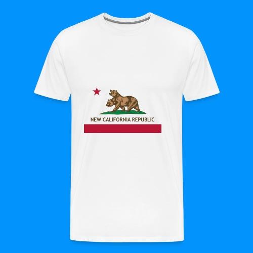 République de Nouvelle Californie - T-shirt Premium Homme