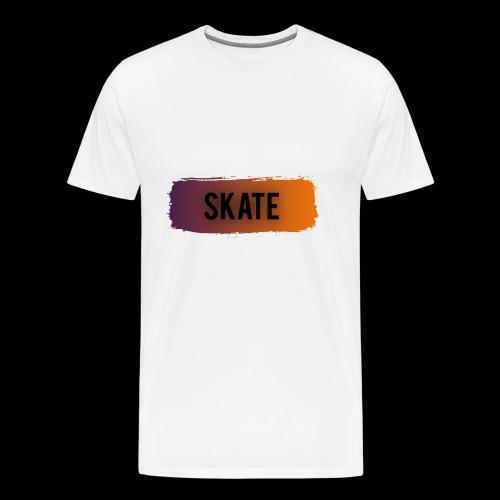 skate brush - Mannen Premium T-shirt