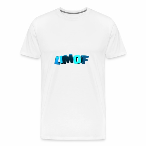 Scritta LIMOF - Maglietta Premium da uomo