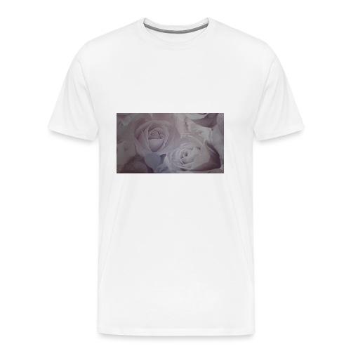 perfect pink rose's - Men's Premium T-Shirt