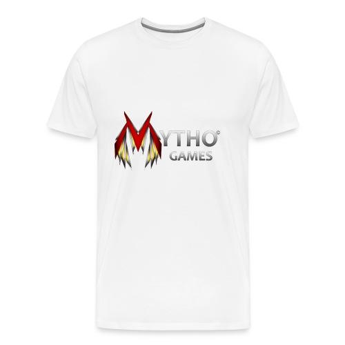 Transparent Logo - Men's Premium T-Shirt