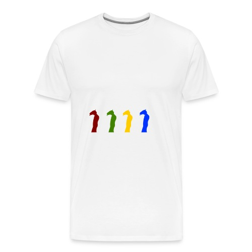 Detective Horis Rainbow - Men's Premium T-Shirt