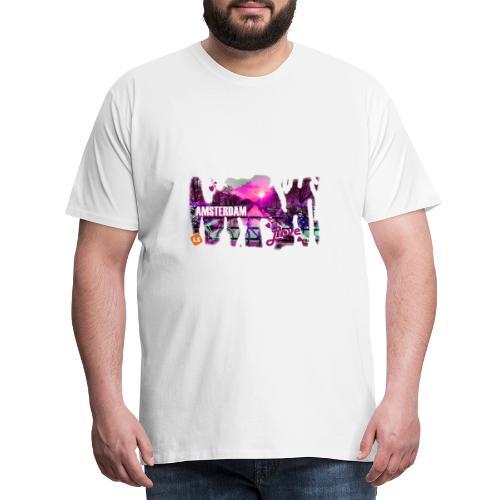 amsterdam love - Mannen Premium T-shirt