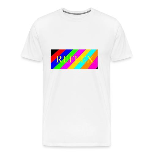 SVEIN HELGE reflex - Premium T-skjorte for menn
