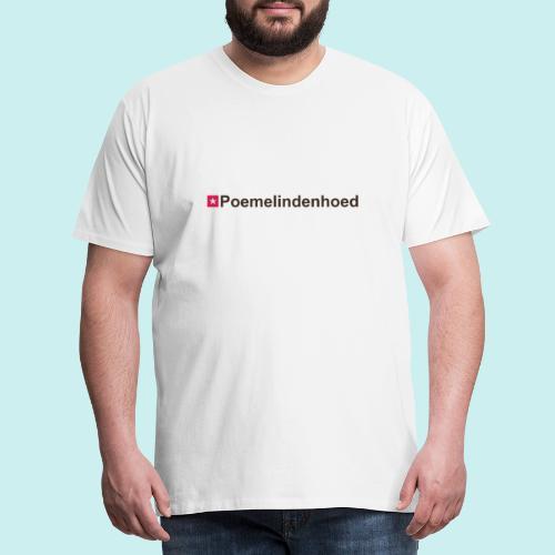 Poemelindenhoed mr hori def b - Mannen Premium T-shirt