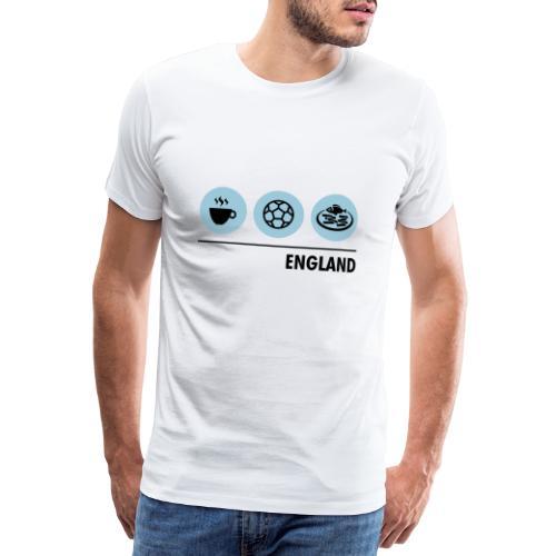 Circles - England - Men's Premium T-Shirt
