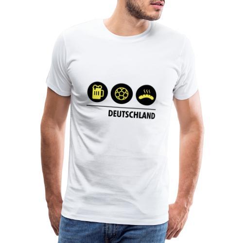 Circles - Germany - Men's Premium T-Shirt