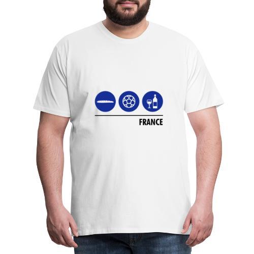 Circles - France - Men's Premium T-Shirt
