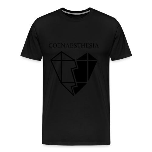Logo & Heart Front Large - Männer Premium T-Shirt