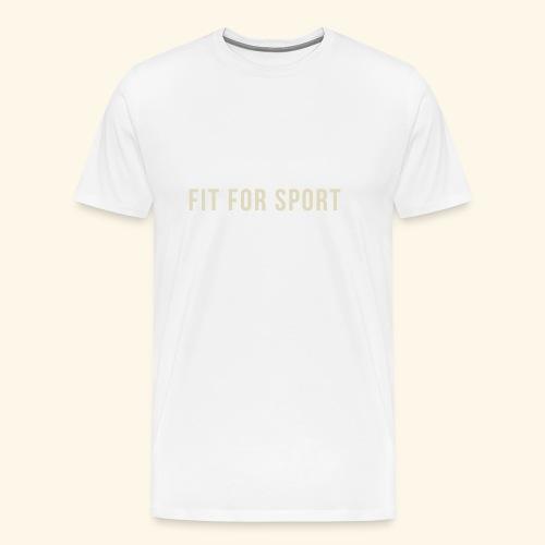 FIT FOR SPORT - Herre premium T-shirt