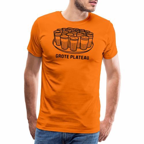 Grote Plateau - Mannen Premium T-shirt