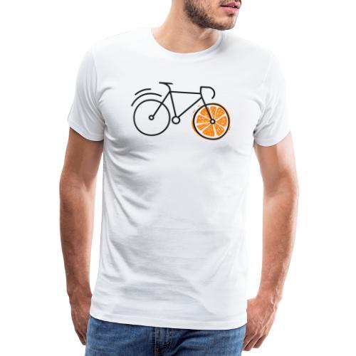 ORANGE BIKE - DESIGN - Männer Premium T-Shirt