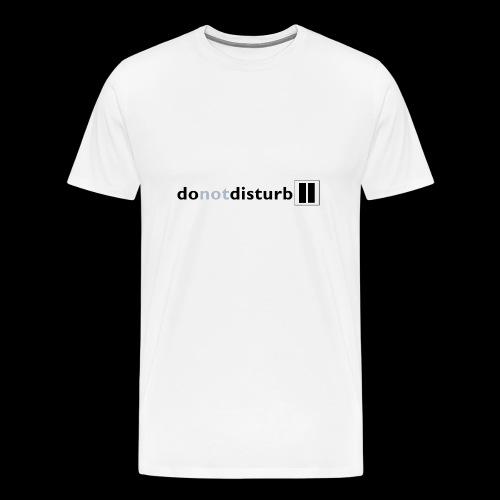 donotdisturb clothing range - Men's Premium T-Shirt