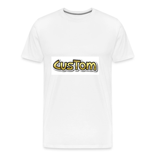 CusTom GOLD LIMETED EDITION - Mannen Premium T-shirt