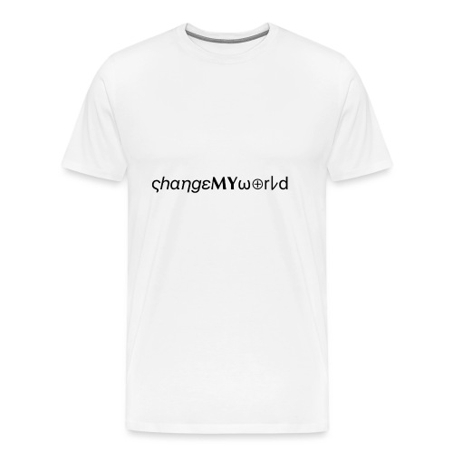 original ςhαηgεMYω⊕rレd - T-shirt Premium Homme