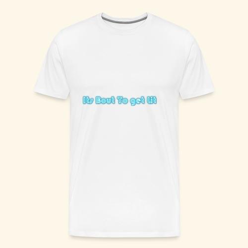 MY SLOGAN - Men's Premium T-Shirt