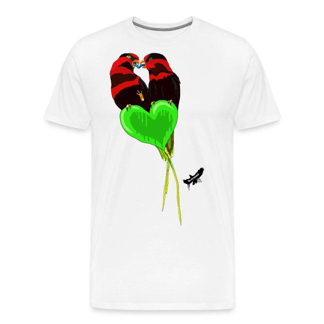 Lovebirds by BlackenedMoonArts, w. logo