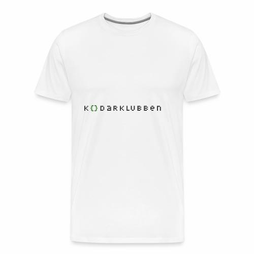 Kodarklubben ljusare kläder - Men's Premium T-Shirt