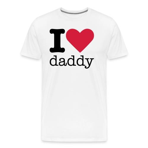 I Love Daddy - Mannen Premium T-shirt