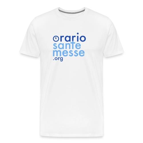 Orario Sante Messe T-shirt front - Maglietta Premium da uomo