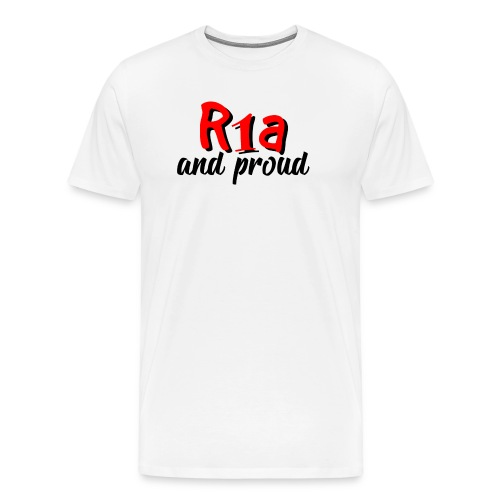 R1a and proud - Maglietta Premium da uomo