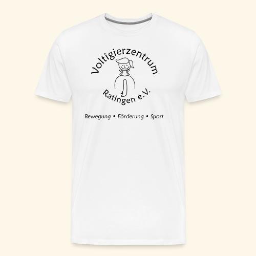logo 1c vzr - Männer Premium T-Shirt