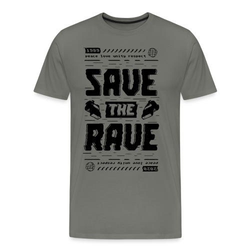 Save The Rave - Men's Premium T-Shirt