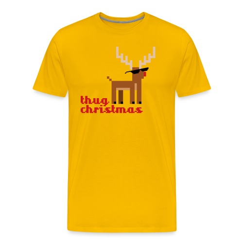 Rudolph the Red Nosed Reindeer Pixel - Men's Premium T-Shirt