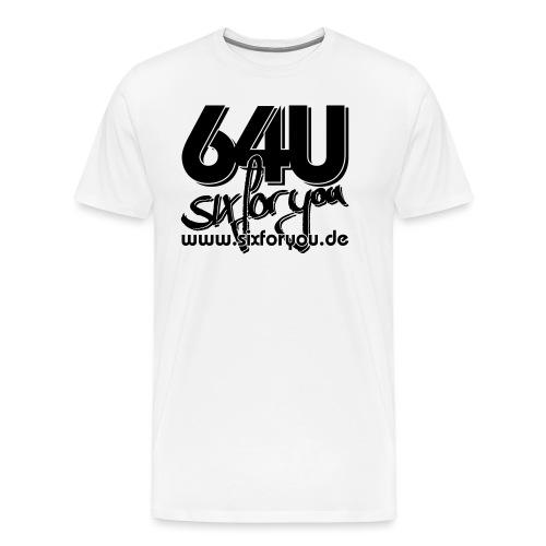 64u www sw - Männer Premium T-Shirt
