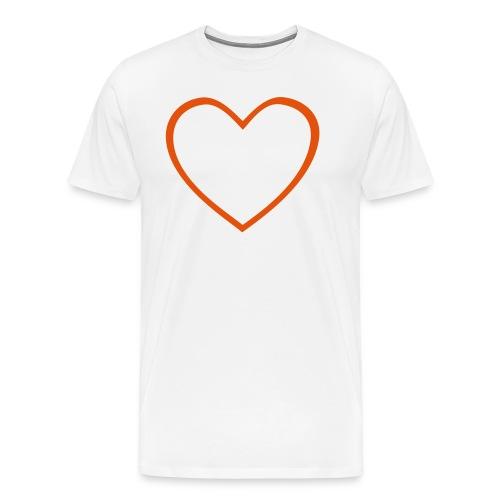 Hjärta 4 - Premium-T-shirt herr