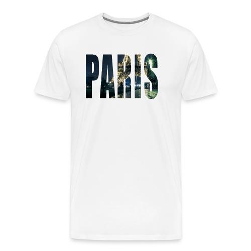 paris ville france - T-shirt Premium Homme