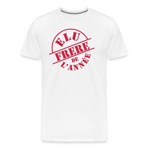 Elu Frère de l'année - T-shirt Premium Homme