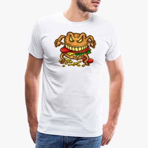 La malédiction du burger - T-shirt Premium Homme