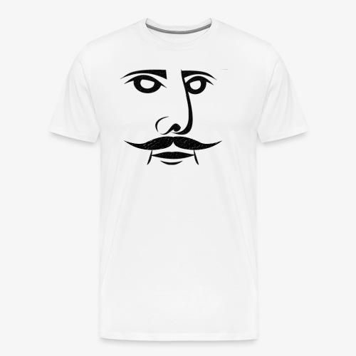 KING OF SCHURBART - Männer Premium T-Shirt