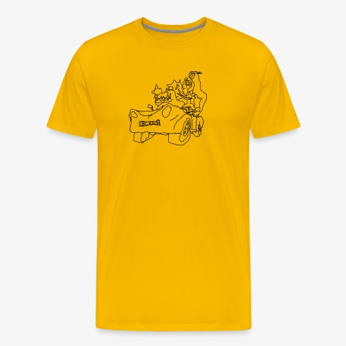 gova dinos - T-shirt Premium Homme