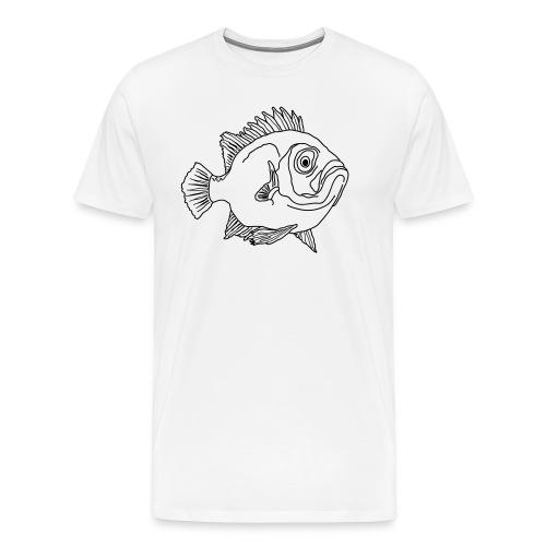 Fisch Barsch Ozean Meer Wasser Aquarium Angeln - Männer Premium T-Shirt
