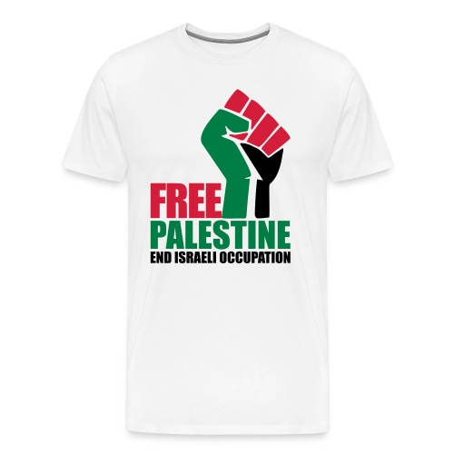 Free Palestine End Israeli Occupation - Men's Premium T-Shirt