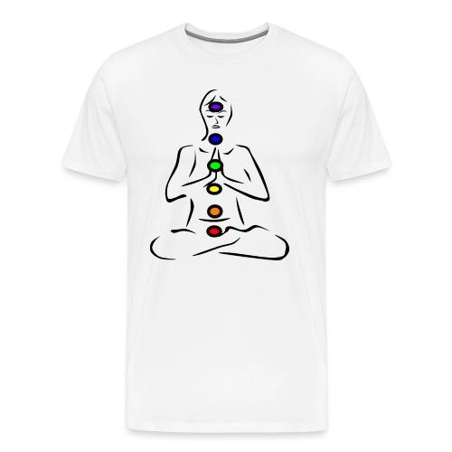 Chakras Chakren - Männer Premium T-Shirt