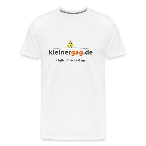 logotransp png - Männer Premium T-Shirt