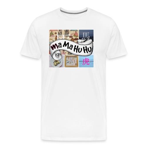 Ma ma hu hu / So-so phonecase - Miesten premium t-paita