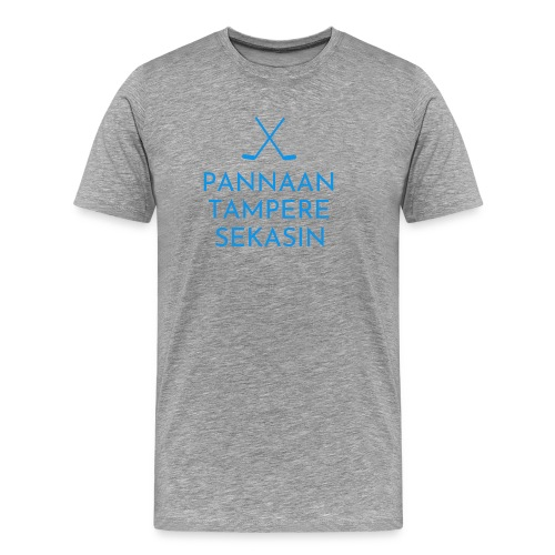 Pannaan Tampere Sekasin - Miesten premium t-paita
