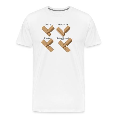Lap joints - Men's Premium T-Shirt