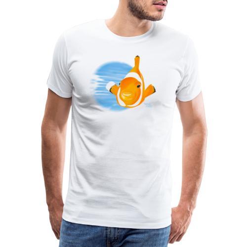 Poisson clown - T-shirt Premium Homme