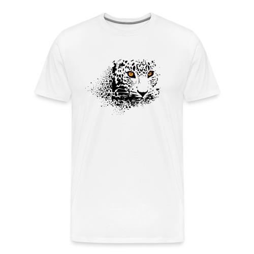 regard félin - T-shirt Premium Homme