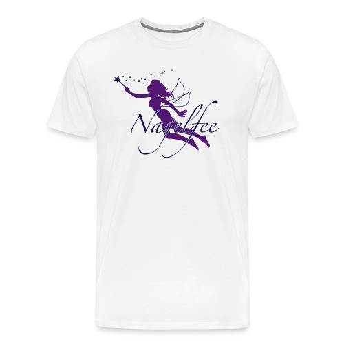 Nagelfee vom Werbeprofi für Dein Nagelstudio - Männer Premium T-Shirt