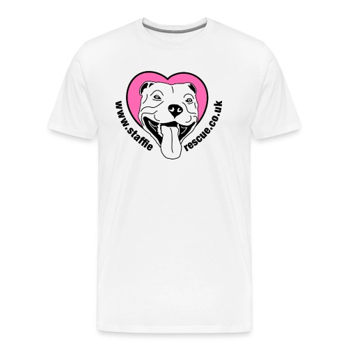 Staffie Rescue - Men's Premium T-Shirt