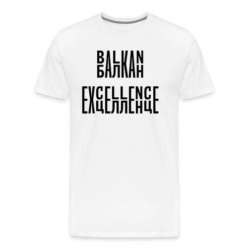 Balkan Excellence vert. - Men's Premium T-Shirt
